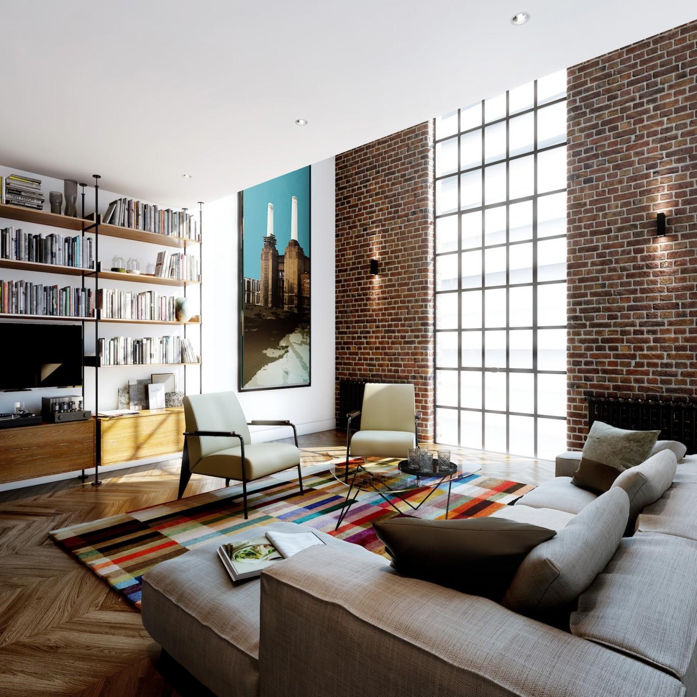 Michaelis boyd - The fireman pole apartment an incendiary design ...