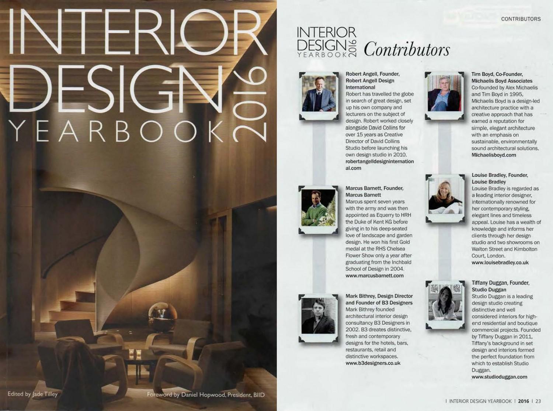 Interior Design Yearbook 2016